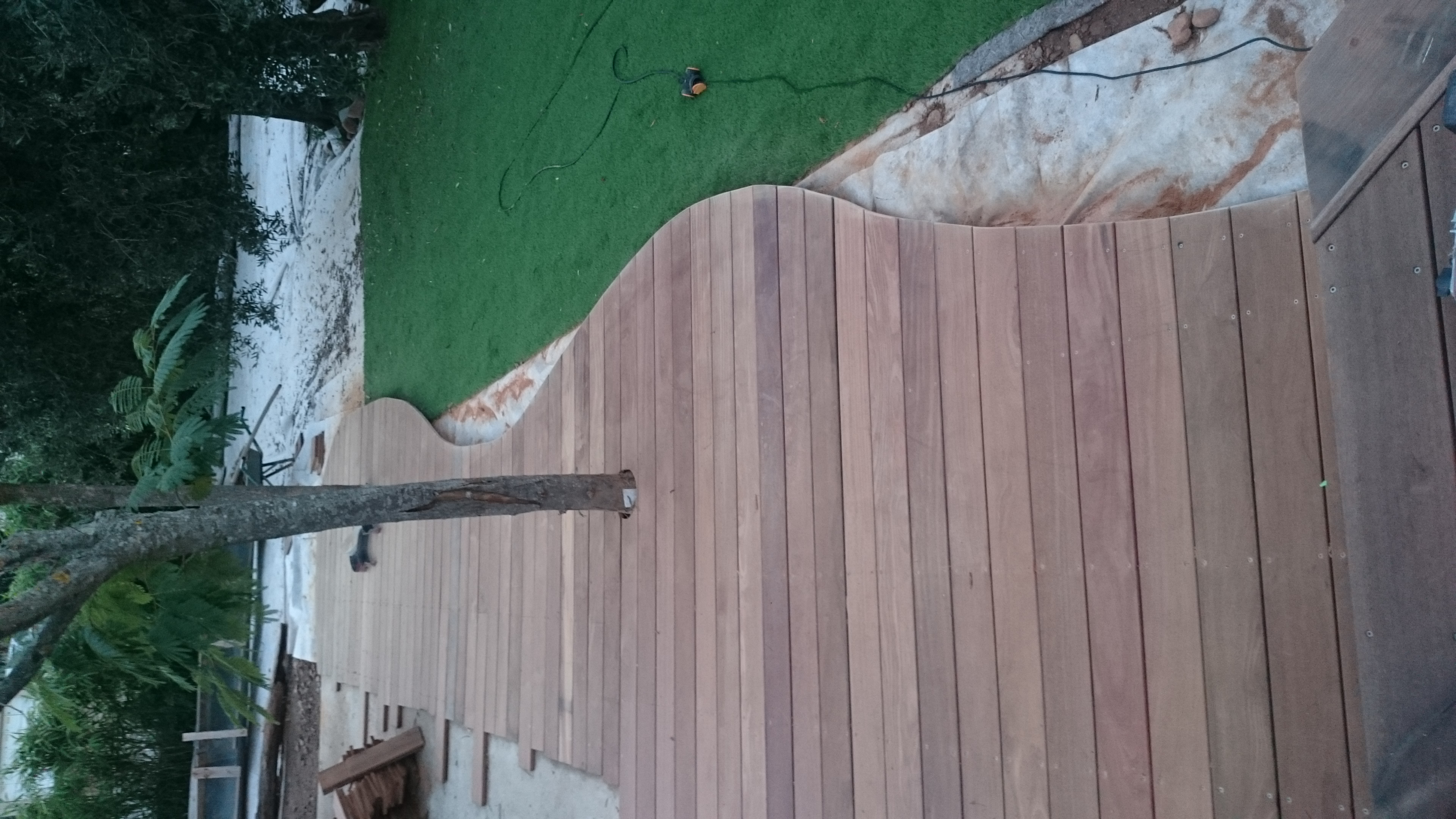 Habillage piscine cumaru (2)