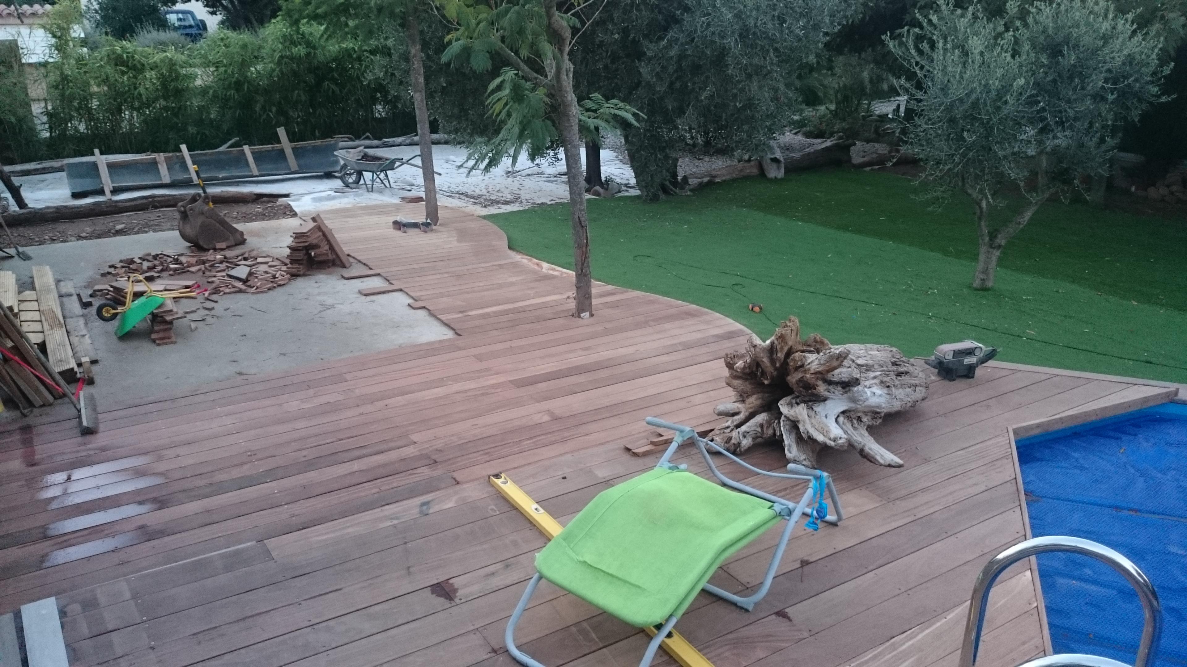 Habillage piscine cumaru (3)